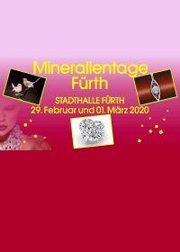 Ausstellung von Mineralien, Schmuck, Edelsteinen und Fossilien