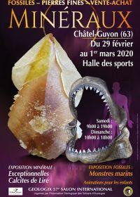 57. Géologic Messe für Mineralien, Fossilien und Edelsteine