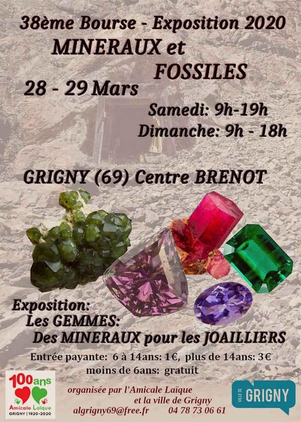 38. Ausstellung von Mineralien und Fossilien