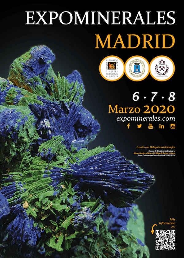 Mineralausstellung Madrid 2020