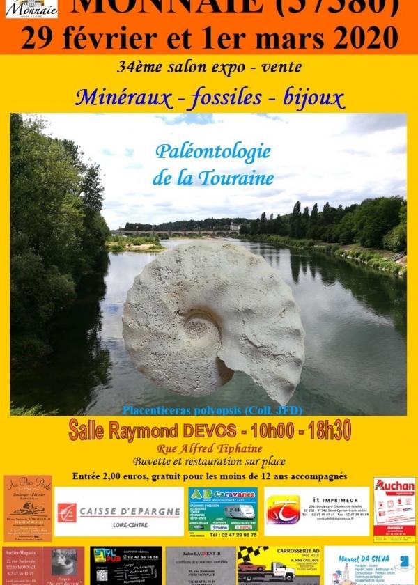 34. Messemesse für Mineralien und Fossilien