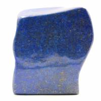 Steinblock der Lapislazuli abstrakten dekorativen Form
