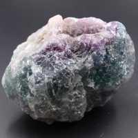 Lila grüner Fluorit