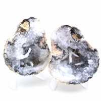 Ganze Kokos-Achat-Geode