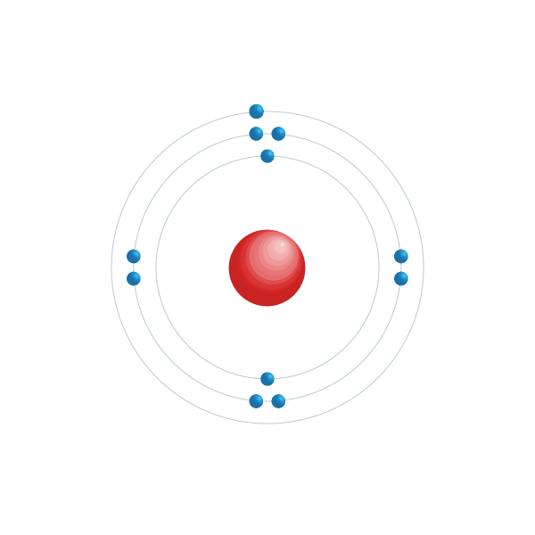 Natrium Elektronisches Konfigurationsdiagramm