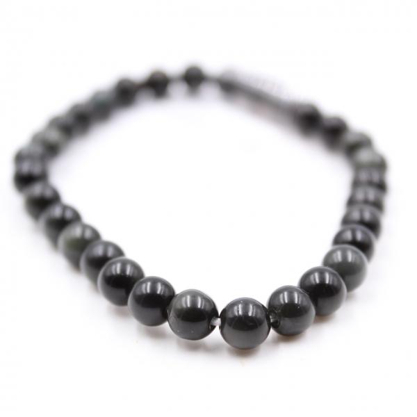 Obsidianarmband 6 mm