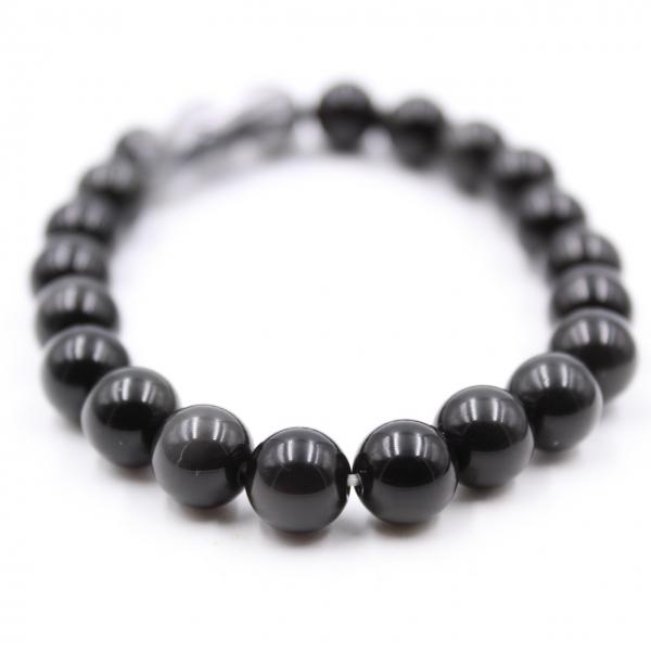 Obsidian Armband 8 mm