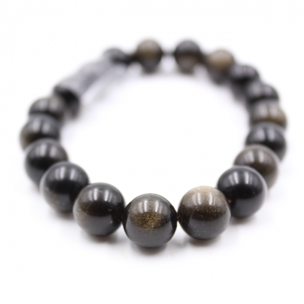 Obsidianarmband 10 mm