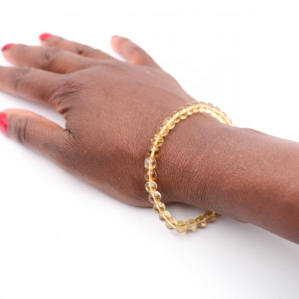 Citrin Armband