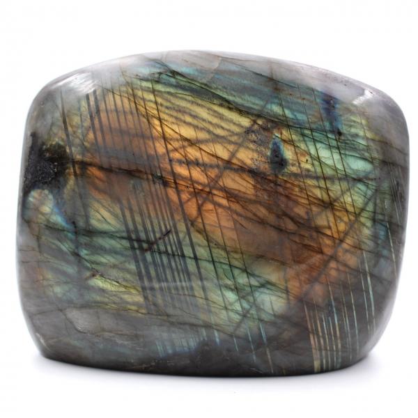 Labradorit Stein Freiformverzierung