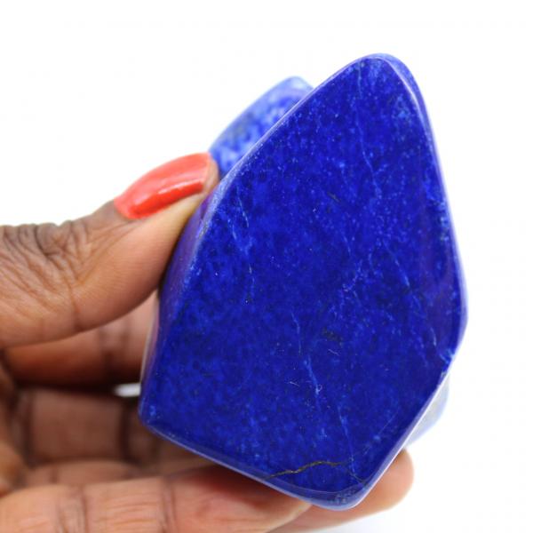 Natürlicher polierter Lapislazuli-Stein