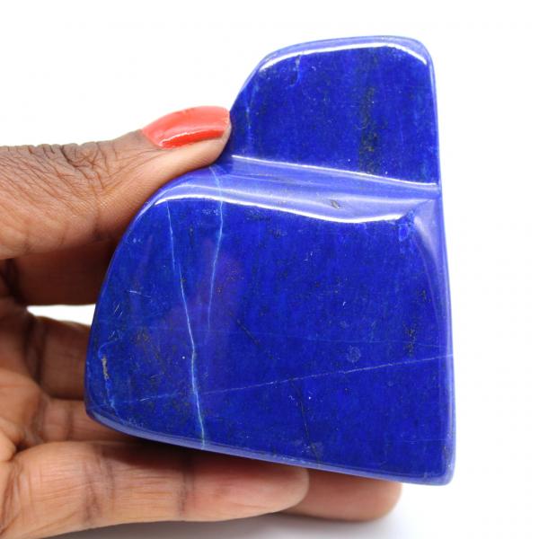 Polierter Lapislazuli-Stein